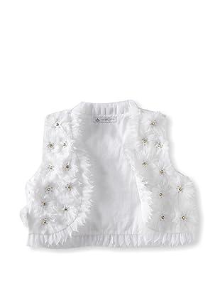 Charabia Girl's Vest (White)