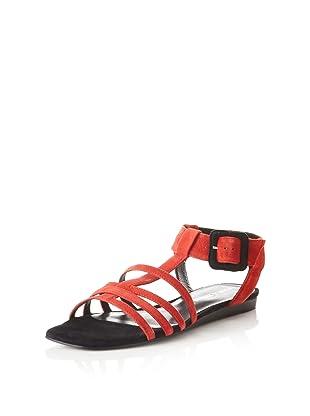 Pour La Victoire Women's Briton Sandal (Cherry)