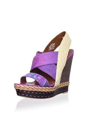 Boutique 9 Women's Isabella Sandal (Purple Multi)