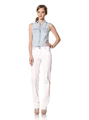 Christopher Blue Women's Joanie Straight Leg Pant (White)