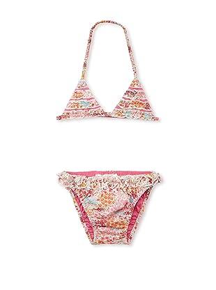 TroiZenfants Girl's 2-Piece Triangle Bikini (Pink)