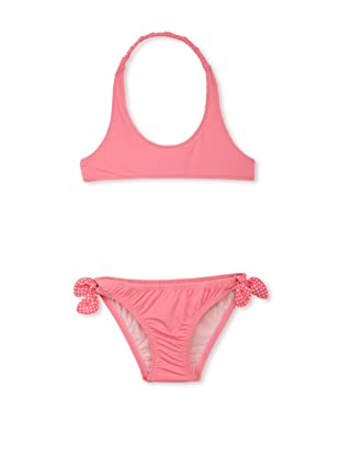 TroiZenfants Girl's 2-Piece Halter Bikini (Pink)