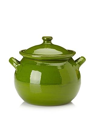 Terafeu Terafour 4-Qt. Round Casserole with Lid (Green)