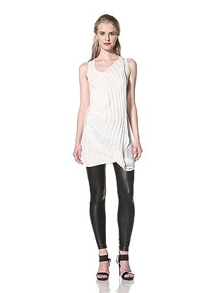 L.A.M.B. Women's Sleeveless Silk Top (Ivory)