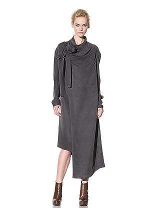 Haider Ackermann Women's Wrap Front Dress (Anthracite)