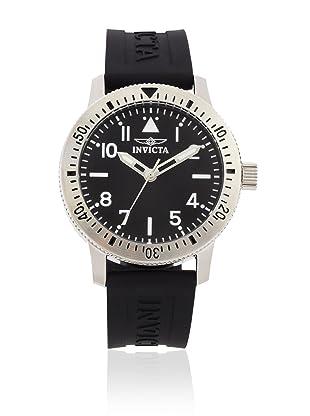 Invicta Men's 11422 Specialty Black Dial Black Polyurethane Watch