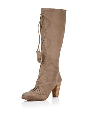 Plenty by Tracy Reese Women's Alexia Knee-High Boot (Taupe)