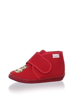 Cienta Kids Teddy Sneaker (Red)