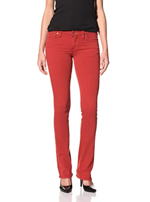 Red Engine Women's Ruby Micro Flare Jean (Cherry)