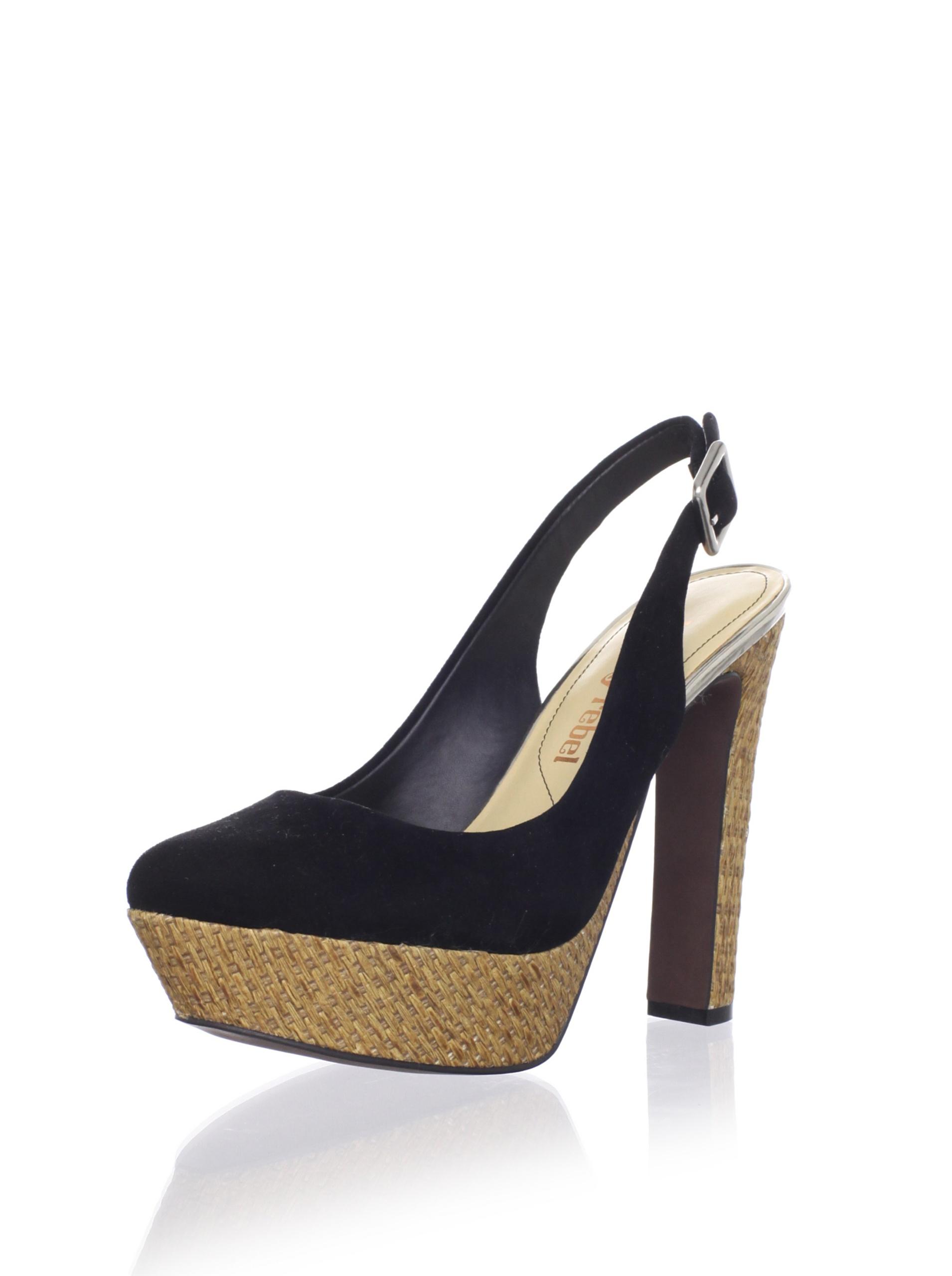Luxury Rebel Women's Gabo Platform Pump (Black)