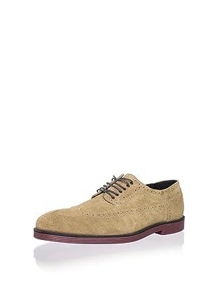 Swear Men's Logan 3 Shoe (Tan Suede/Red)