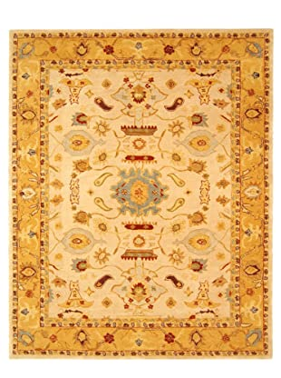 Safavieh Anatolia Collection Hand Tufted Rug (Ivory/Gold)