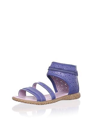 Billowy Kid's Starry Ankle Cuff Sandal (Blue)