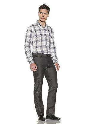 John Varvatos Collection Men's Pitch Pocket Slim Pant (Black)