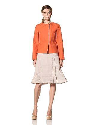 MARNI Women's Round Neck Jacket (Orange)
