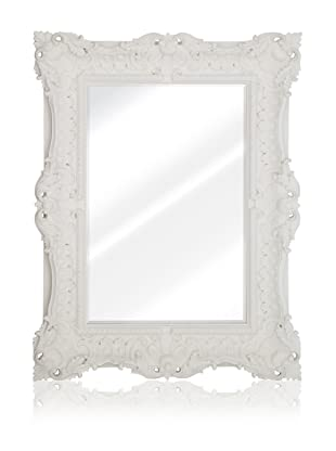 Bernadette Mirror (Matte White)