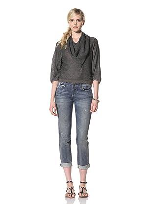 Rogan Women's Sheena Cowl Sweater (Oasis Blue)