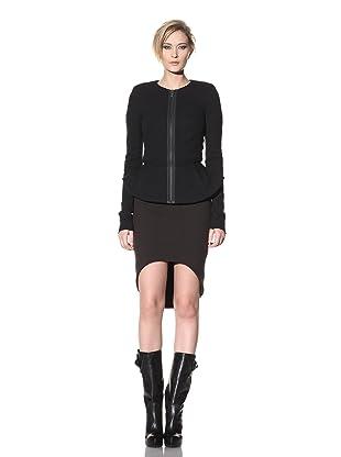 Haider Ackermann Women's Skirted Wool Jacket (Black)