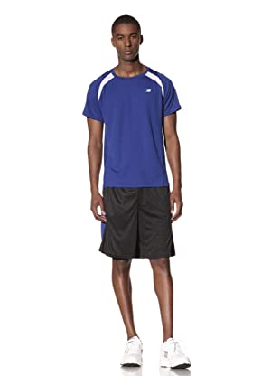 New Balance Men's All Sport Short (Black/Surf the Web)