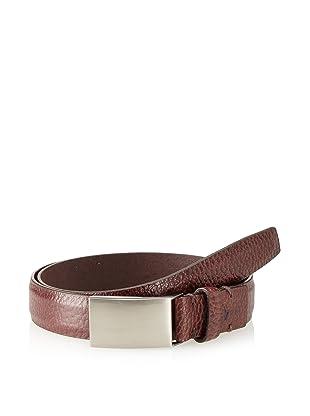 Joseph Abboud Men's Shrunken Belt (Brown)