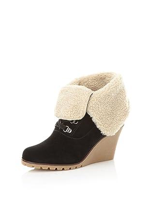 Kelsi Dagger Women's Francille Faux Shearling Boot (Black)