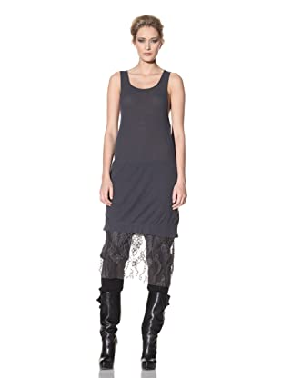 Haider Ackermann Women's Lace Trimmed Tunic (Coal)