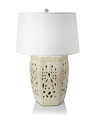 Emissary Lattice Table Lamp (Champagne)