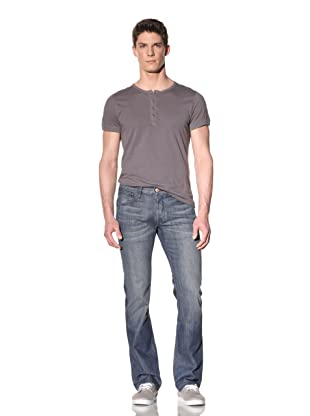 Earnest Sewn Men's Ace Slim Bootcut Jean (Garrett)