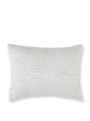 Belle Epoque Eternal Decorative Pillow Brilliant Wave, Silver, 12