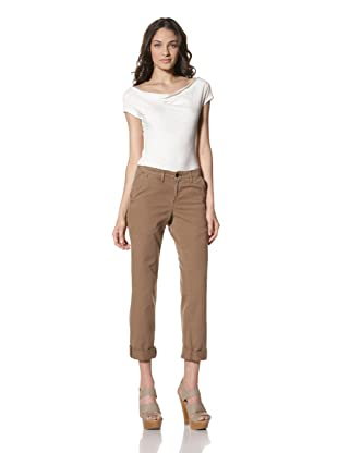 Billy Reid Women's Jane Twill Chino (Rust)