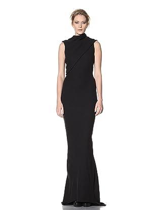 Haider Ackermann Women's Sleeveless Knit Evening Dress (Black)