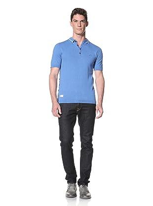 Marshall Artist Men's Golfing Polo Shirt (Electric Blue)