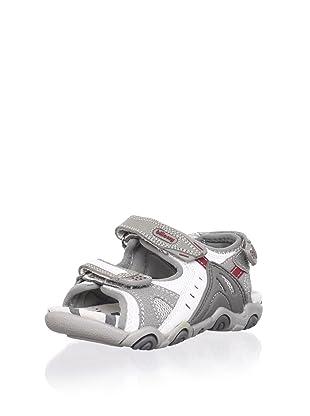 Billowy Kid's Sport Sandal (Grey)