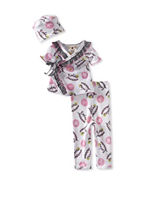 Country Baby Girl Short Sleeve Kimono Set (Rodeo Princess)