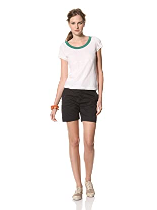 MARNI Women's Round Neck T-Shirt (White)