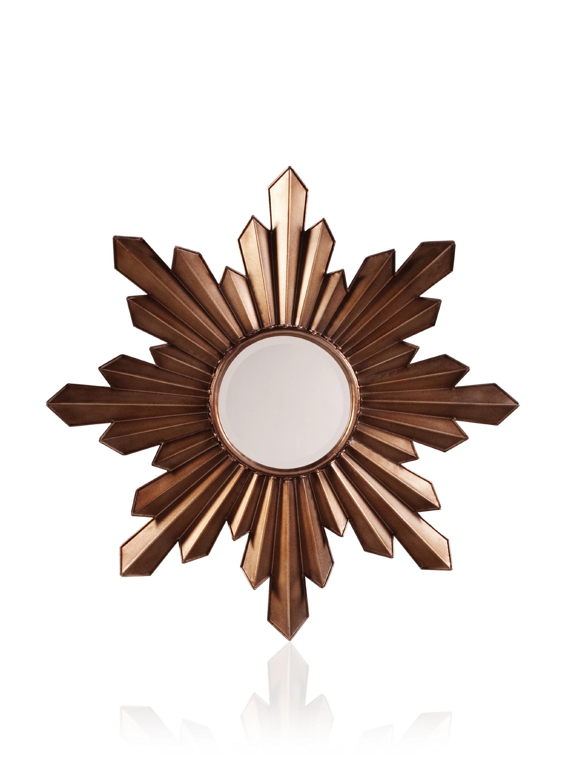 Comet Mirror, Bronze/Gold