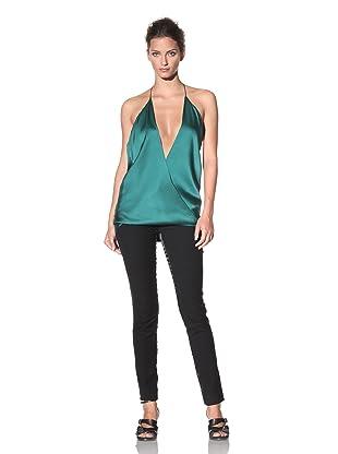 Haider Ackermann Women's Wrap Halter Top (Green)