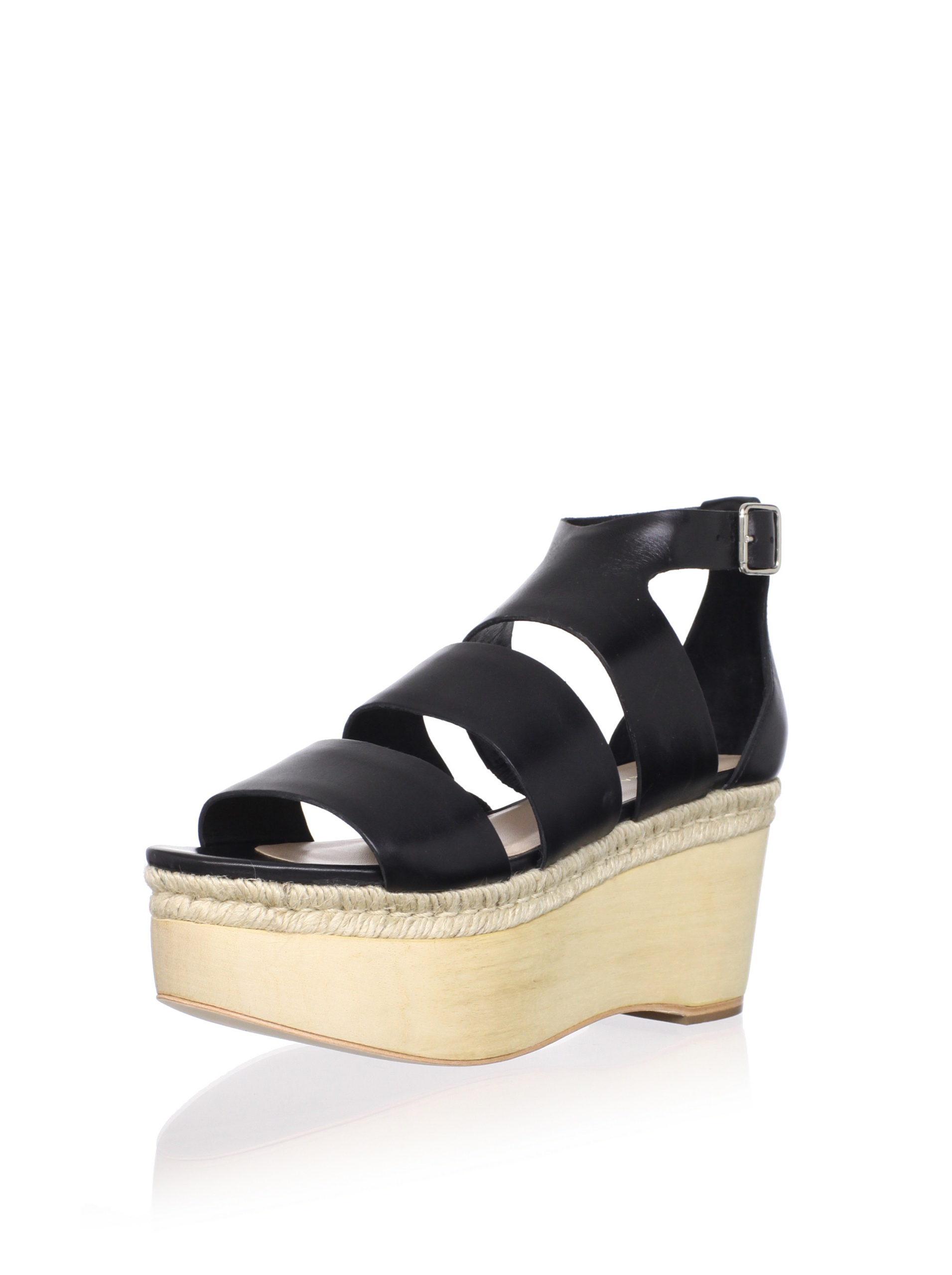 Loeffler Randall Women's Sasha Platform Sandal (Black)