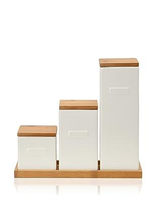 CULT DESIGN Box Leaf Kitchen Set (White)