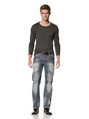 MOD Men's Ilias Straight Leg Jeans (True Blue)