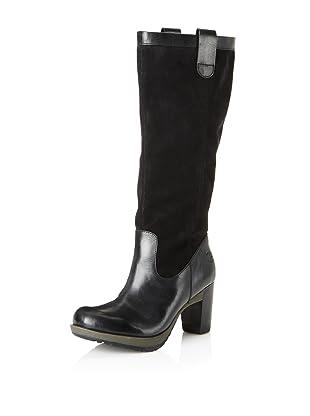 Dr. Martens Women's Josie Motorcycle Boot (Black)