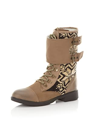 Kelsi Dagger Women's Ilya Fair Isle Boot (Tan)