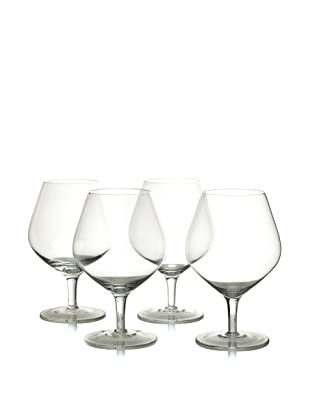 Ravenscroft Crystal Set of 4 Cognac/Brandy Balloon Snifter