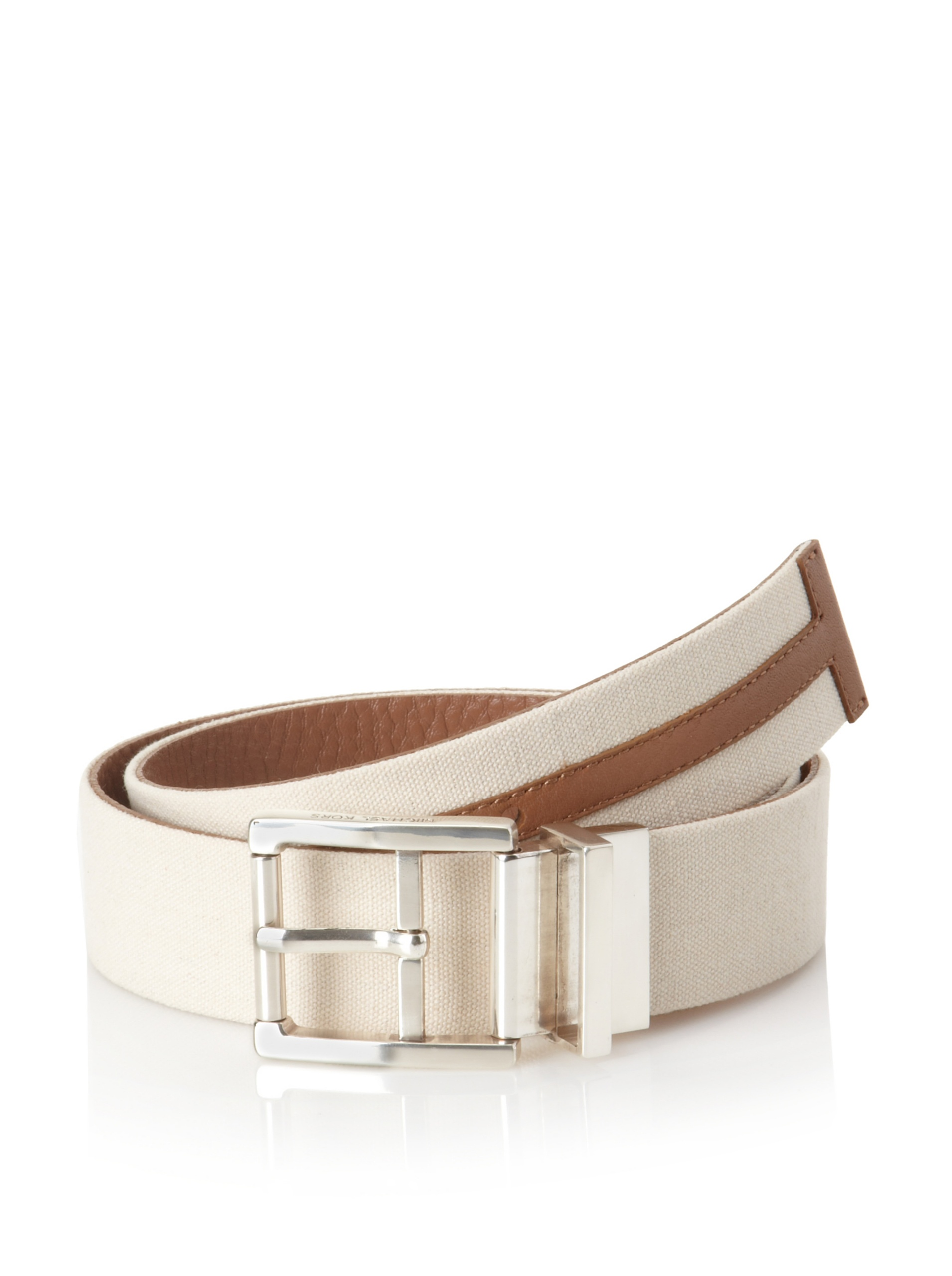 Michael Kors Men's Reversible Belt (Luggage)