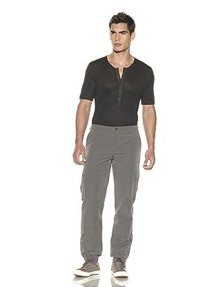 John Varvatos Collection Men's Knit Cuff Sport Pant (Dark Olive)