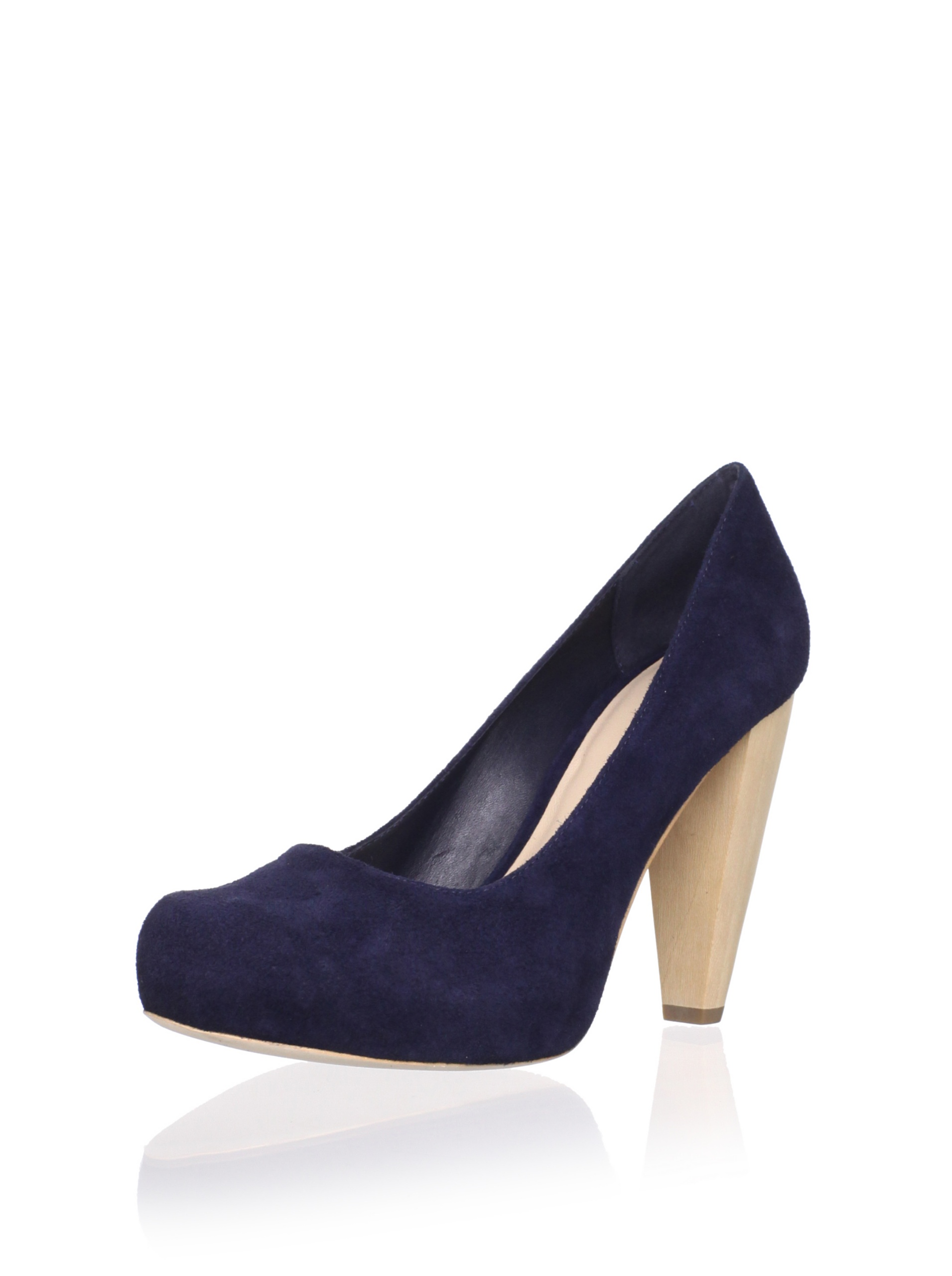 Loeffler Randall Women's Esther Hidden Platform Pump (Navy)