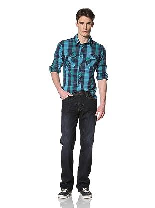 Big Star Men's Five Pocket Bootcut Jeans (Traffic)