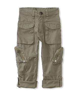 KANZ Boy's Roll-Up Pants (Olive)