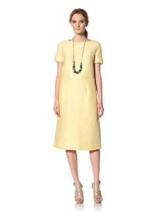 MARNI Women's Short Sleeve Dress (Butter)