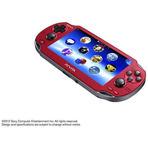 PlayStationVita 3G/Wi-Fiモデル コズミック・レッド 限定版 (PCH-1100 AB03)
